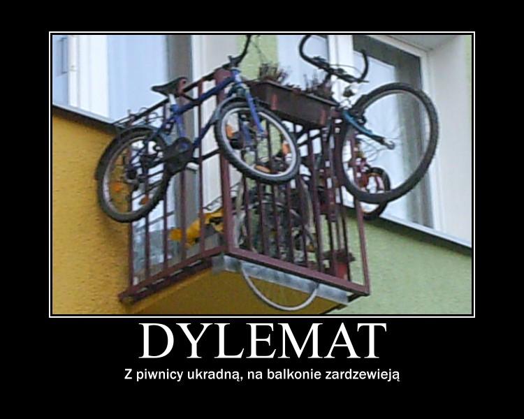 rower-balkon-koszalin-zima-piwnica